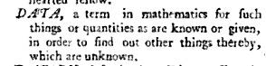 Data in Lingua Britanica Dictionary